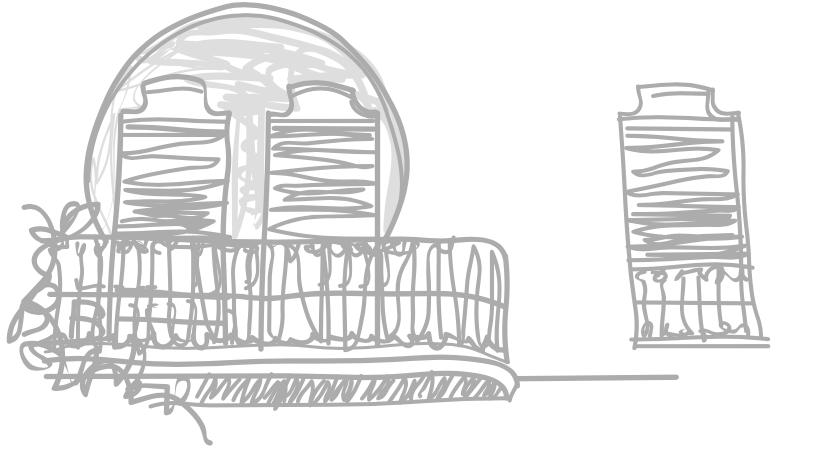 dibuix l'hotel